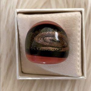 Murano Ring in Domed Design NWB